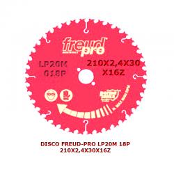 DISCO FREUD-PRO LP20M 18P...