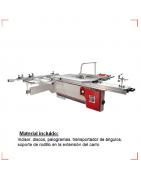 escuadradora, maquinaria industrial, corta de tableros  y madera a medida con precisión absoluta.